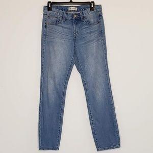Madewell boyjean mid waist jeans 27 in inseam